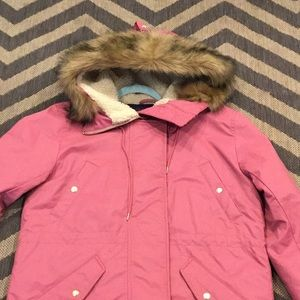 Jcrew Fur Hood Winter Jacket LP